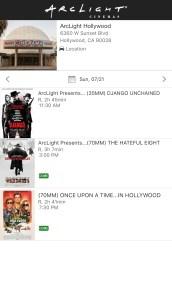 ArcLight Cinemas - Hollywood - July 21st, 2019