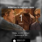 Once Upon a Time in Hollywood - TCL Chinese Theatres (ticket info)