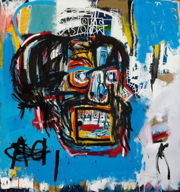 Cuadro de jean Michel Basquiat