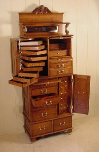 American Cabinet Co. Oak Dental Cabinet #54