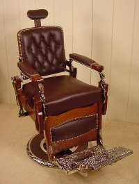 Antique barber chair | the way we were | Pinterest ...