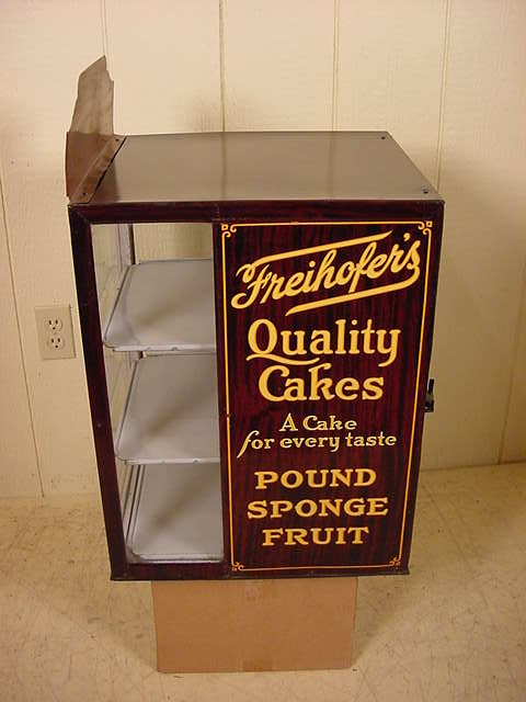 Freihofers Quality Cakes Display Cabinet