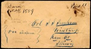 "Duroc 1859 ""via Panama"""