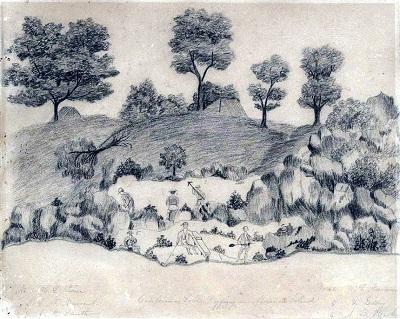 Mormon Island - Early Sketch