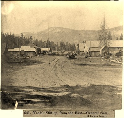 Yank's Station from the East - 1866