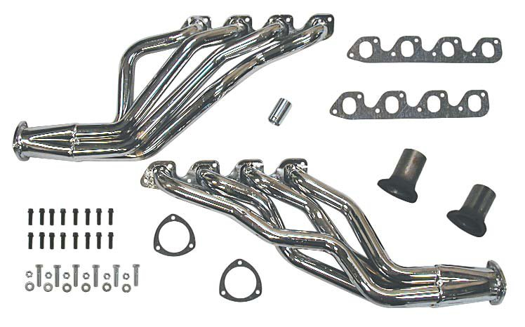 1970-1973 Ford Mustang Headers 351-400M with 2V Heads THY