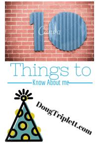 Ten things list