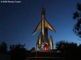 scifi rocket