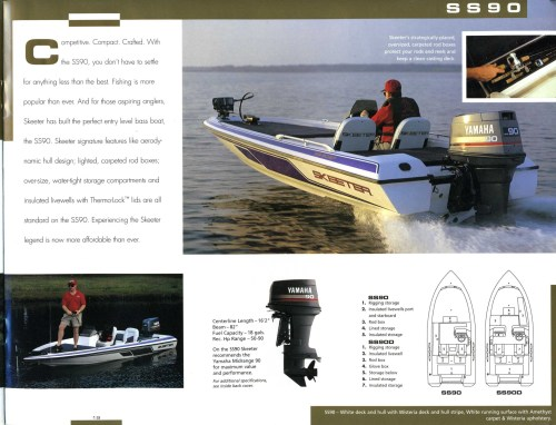 small resolution of 1997 skeeter boats brochure click to return