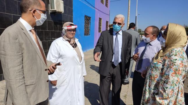 عامل اقليم سيدي بنور في زيارة لمؤسسة الأنصار الخصوصية