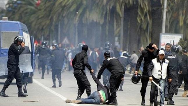 تونس : اعتداء شرطي على راعي غنم يشعل فتيل الاحتجاجات
