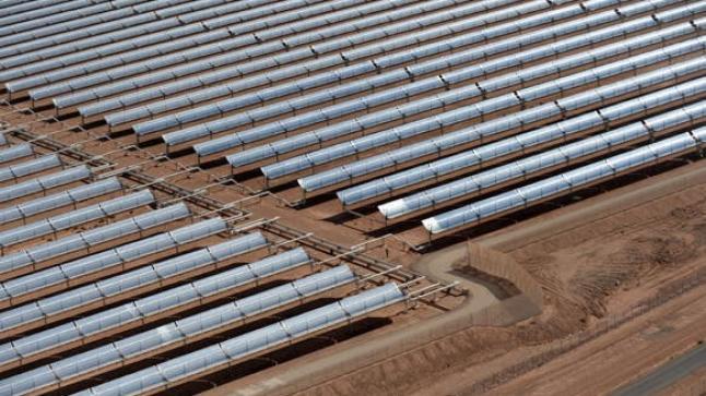 تدشين منظومة الري بالطاقة الشمسية بمشتل أكريش باقليم الحوز