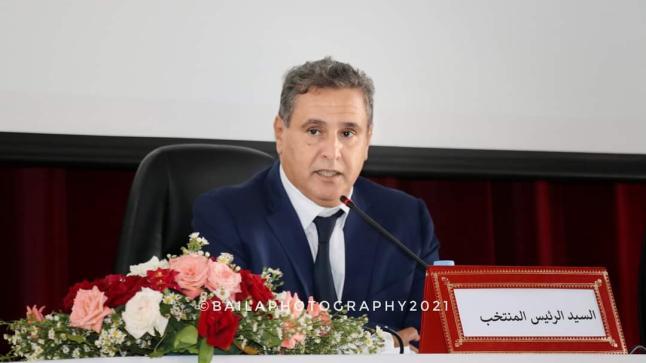 عزيز اخنوش رئيسا لمجلس جماعة اكادير بإلاغلبية