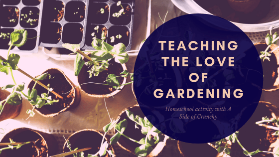 A fun activity to help children get involved in the family garden