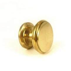 Gold Kitchen Hardware Magazines Round Solid Brass Knob Cabinet Handles And