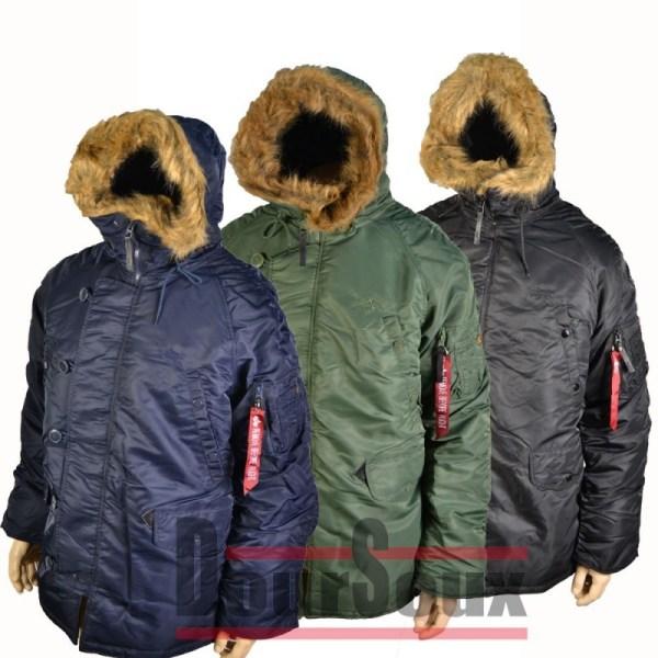 3b. Extreme Cold Weather . Parka. Alpha - Doursoux