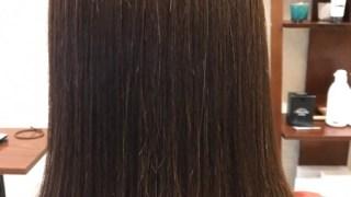 50cmオーバーのドネーションからのサラツヤ縮毛矯正