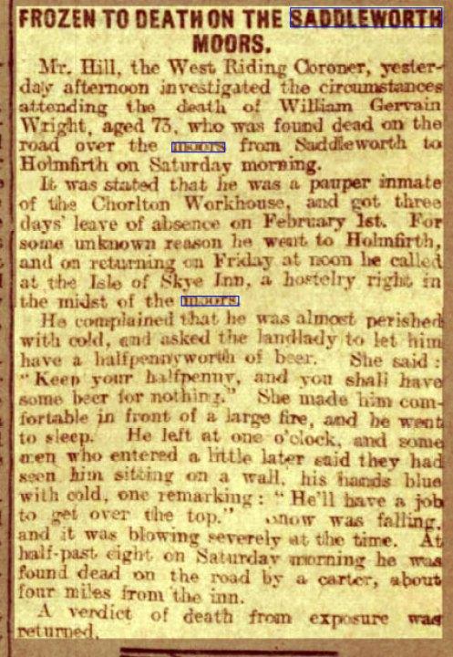 Capture-frozen-to-death-Wednesday-07-February-1906-,--Leeds-Mercury-,--West-Yorkshire,