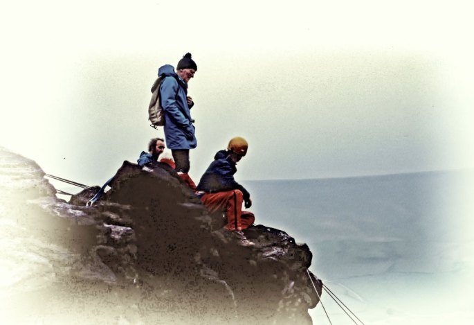Lord-Hunt-(Everest)-on-top-of-Aldermans-with-Roger-Keneddy-on-ropes-toppaz