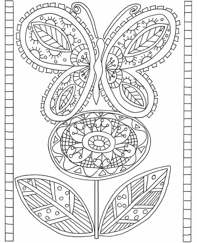 Coloring Chick: Free coloring pages from Dover Publications