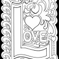 Printable valentine s day coloring pages my craftily ever after