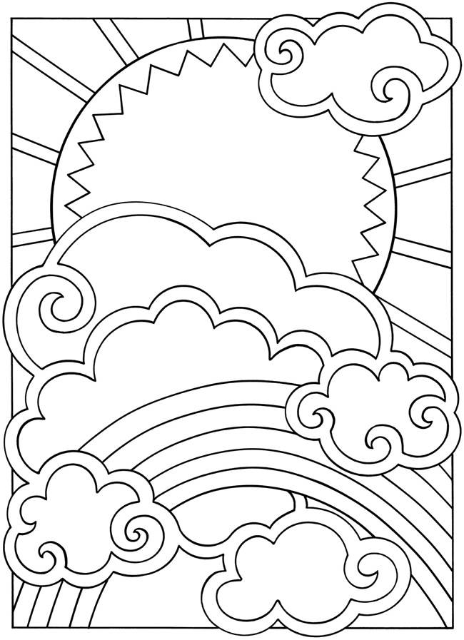 Dover publications, Dovers and Coloring on Pinterest