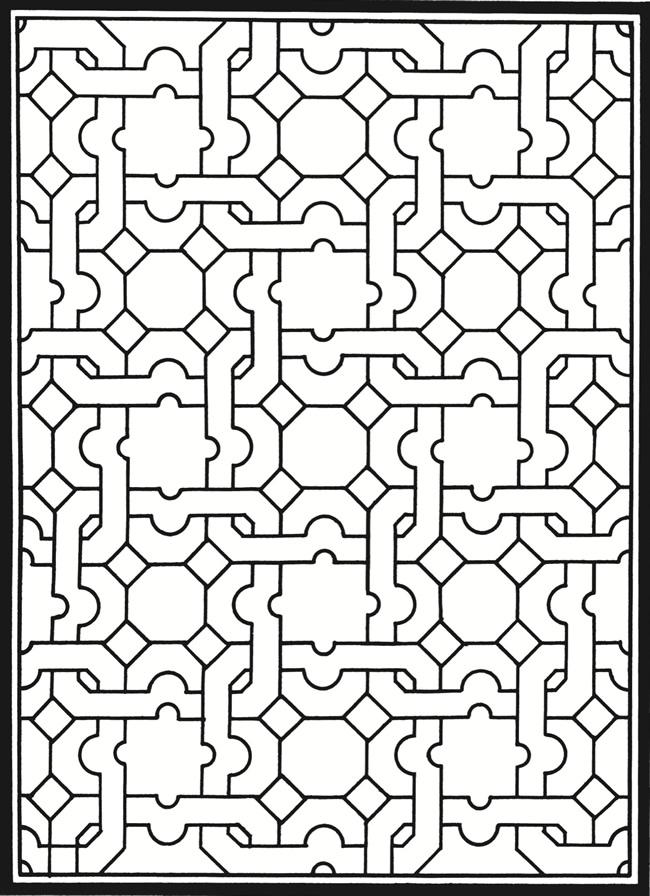 Pueblo Indian Design Coloring Sheets Coloring Pages