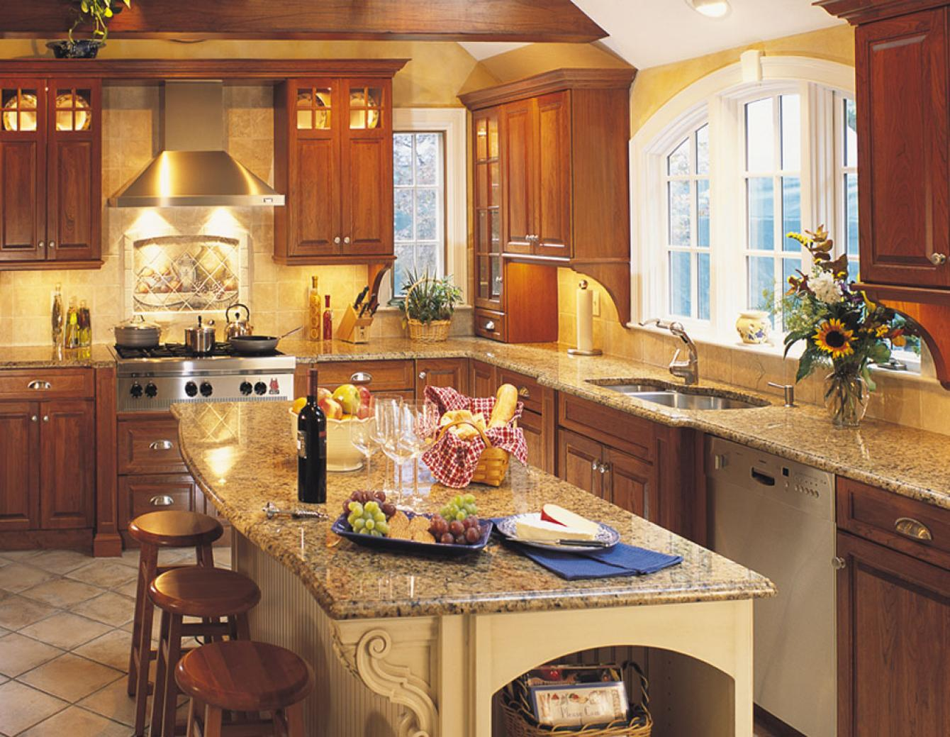 Traditional Kitchen Design Dover Woods