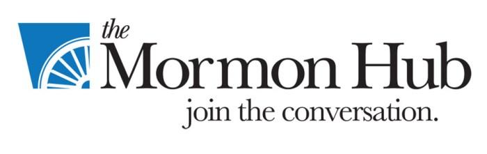 the mormon hub logo