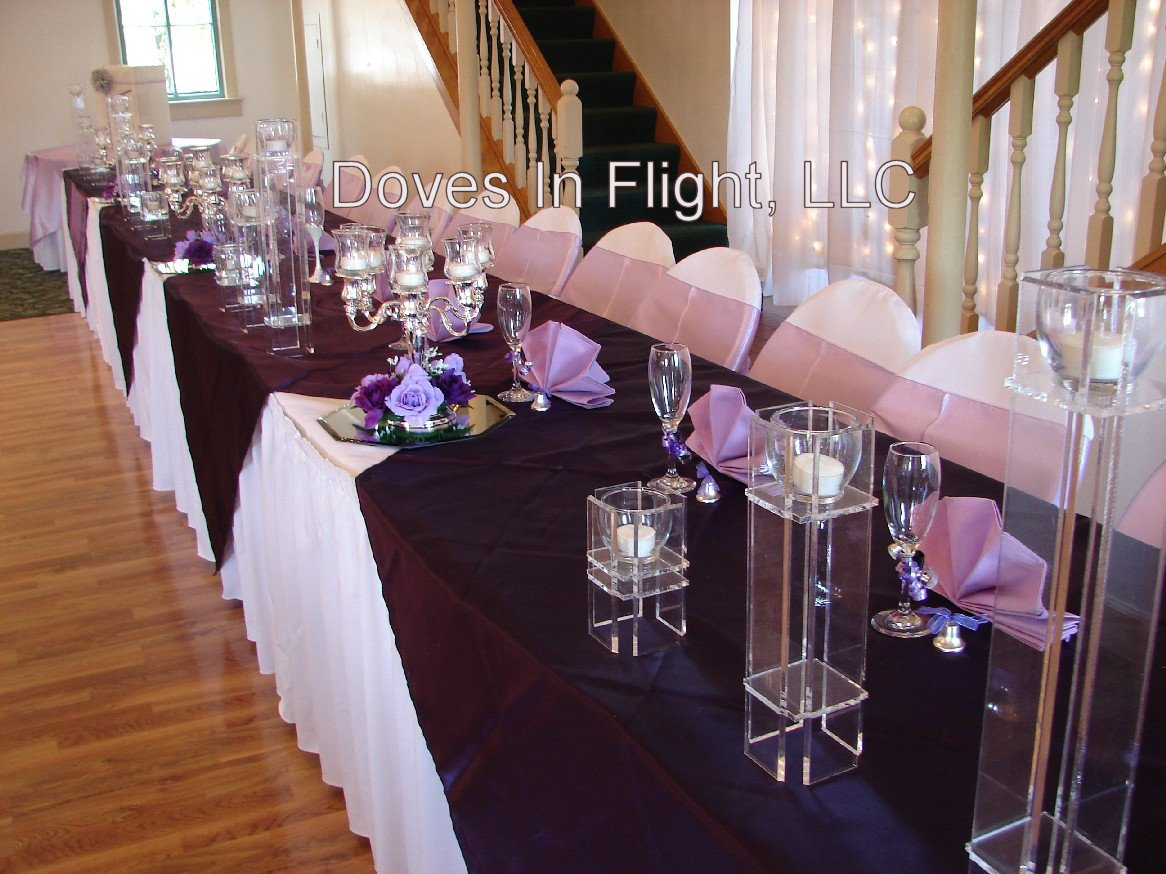 large banquet chair covers wedding hire of lansing: centerpieces and florals