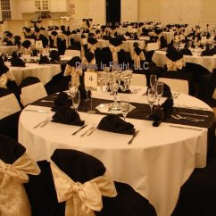Gold Chair Covers With Black Sash Tell City Chairs Pattern 4620 Of Lansing Doves In Flight Decorating G L Opera House