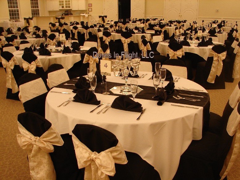 cheap black chair covers for sale christmas uk of lansing doves in flight decorating g l opera house