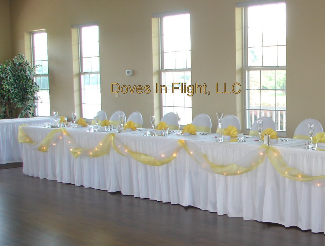 how to make chair sashes folding rocking tractor supply covers of lansing: table decorations