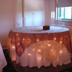 Champagne Banquet Chair Covers Bar Stool Extenders Of Lansing: Table Decorations
