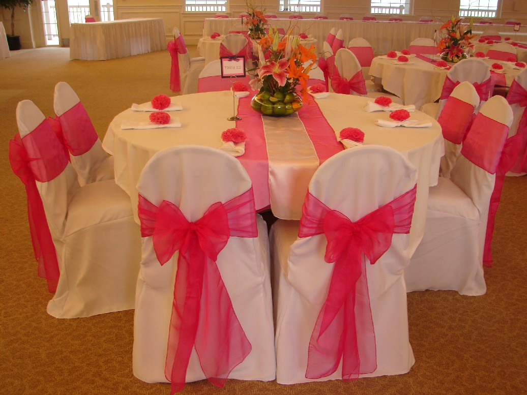 doves in flight decorating chair covers