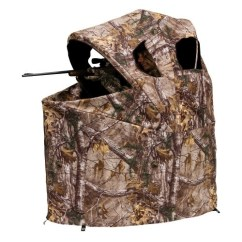 Ice Fishing Chair How To Recover Rocking Cushions Ameristep Tent Blind-realtree Xtra