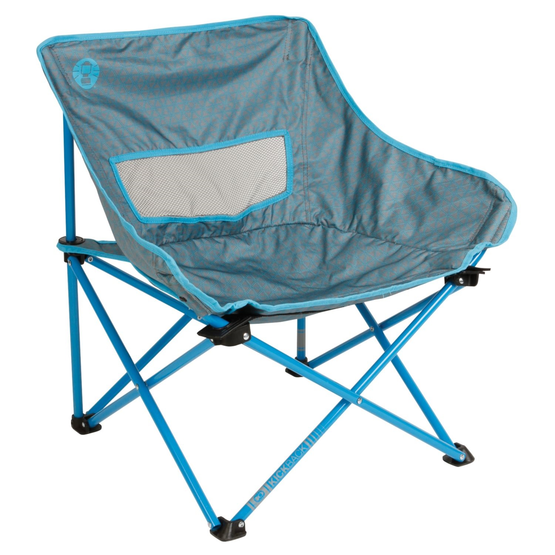 coleman chair accessories bar stool chairs kickback breeze 18x26x26 inch blue