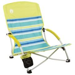 Vision Fishing Chair Repair Lawn Seat Coleman Beach Deluxe Low Sling Citrus