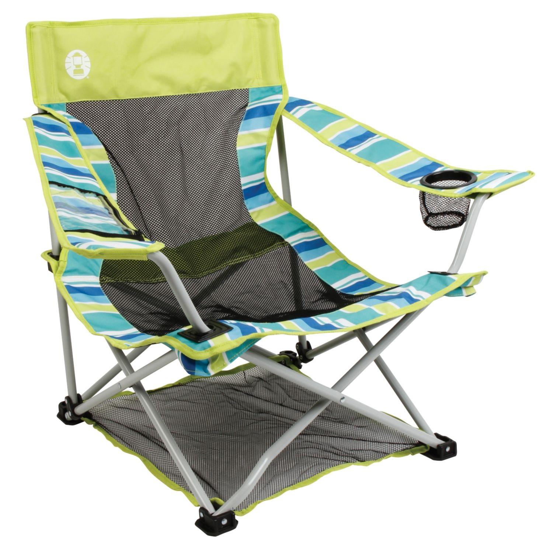 vision fishing chair salon mat coleman low quad beach deluxe native breeze citrus
