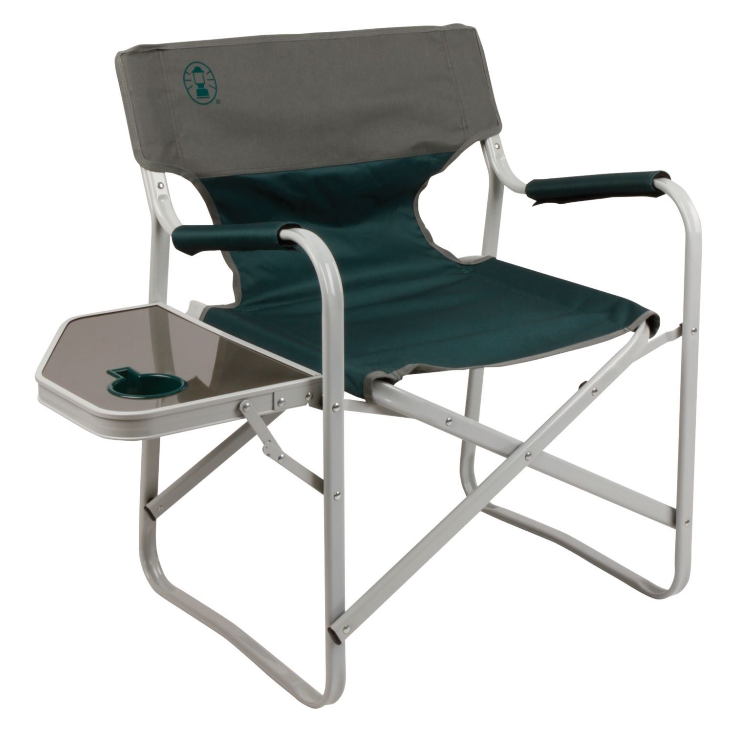 coleman deck chair with table twin sleeper mattress outpost elite side les green