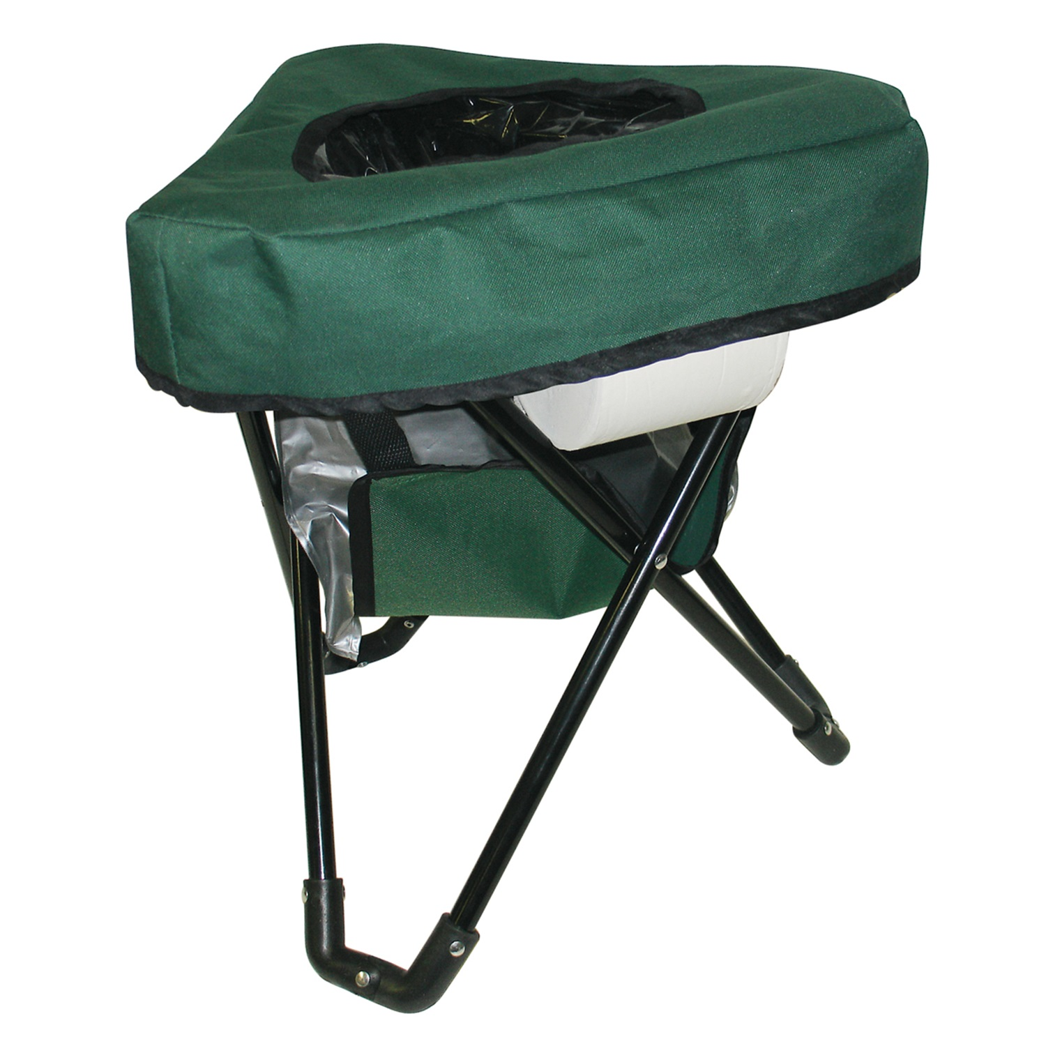 vision fishing chair ikea living room chairs reliance tri to go portable toilet camping