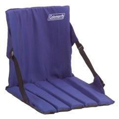 Zebco Fishing Chair American Rocking Styles Coleman Stadium Seat - Blue