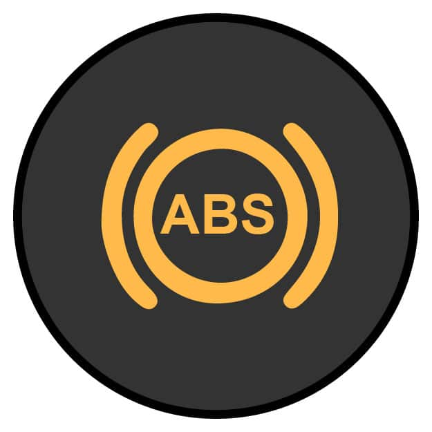 ABS/ANTI-LOCK BRAKE SYSTEM LIGHT