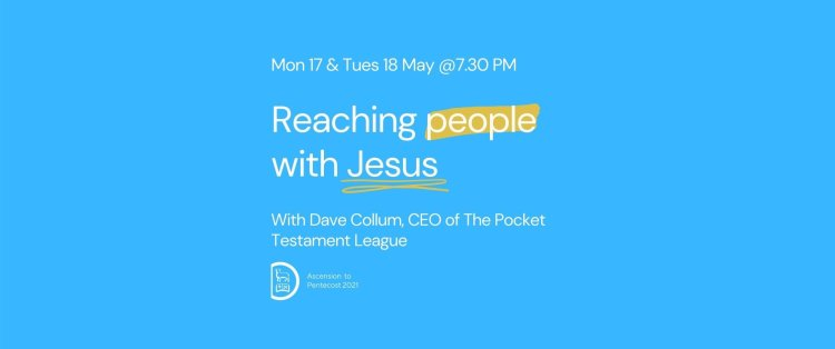 Reaching People with Jesus
