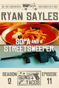 Sopa and a Streetsweeper by Ryan Sayles