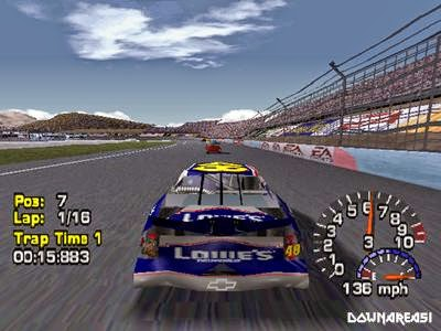 Nascar Thunder 2004 Iso PSX - Download Game PS1 PSP Roms Isos and More | Downarea51