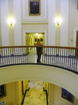 Hannah in the Halls of the State House
