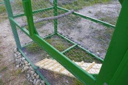 The ramp entering the run