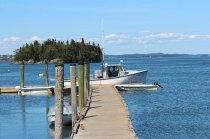 Pier in Lubec