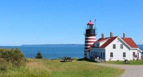 Quoddy Head Lighthouse.